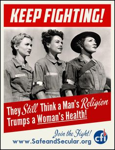 Religion does not trump women's health.