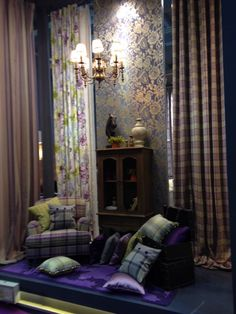Our Highlands checks and tartans lead the way at Shenzhen Fair 2015... www.prestigious.co.uk/collections/highlands