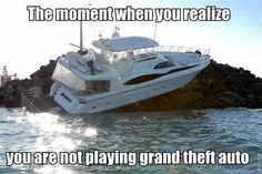 grand theft auto funny pictures - Dump A Day Funny Lego Pictures, Funny Photos, School Pictures, Sports Pictures, Random Pictures, Video Game Memes, Video Games, Gta Funny, People Failing