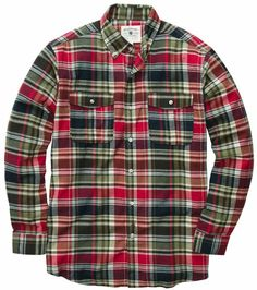 The Wm. Lamb & Son Field Flannel is a holiday classic. Layer with a cozy sweater for an all-American look. $98 including free shipping.