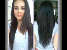 How To: Cut Your Hair At Home! (V-Shape, Long Layers) - YouTube