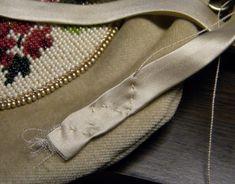 Аксессуары и украшения ручной работы - Как я вшиваю сумку в фермуар