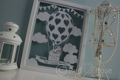 Birth  Christening Baby Sampler Paper Cut 'Up by RedRoseDesignsUK, £35.00