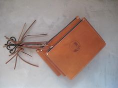 Leather SF pouches ready to go in your bag!