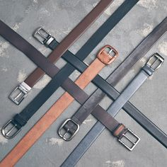 1718f5fc60 Pick one in brown or black and you re set.  Belt