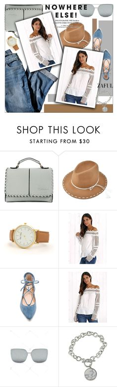 """Zaful"" by jiabao-krohn ❤ liked on Polyvore featuring J.Jill and Steve Madden"