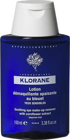 Affordable skin care: Klorane Eye Makeup Remover. Works very gentle on the eyes, takes everything off. Available from essentials.com or French pharmacies
