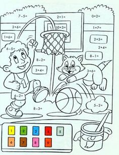 Mickey Coloring Pages, Nativity Coloring Pages, Easter Coloring Pages, Bible Coloring Pages, Preschool Speech Therapy, Math Classroom, Math Activities, Preschool Activities, Mental Maths Worksheets