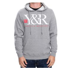 Young and Reckless Core Logo Pullover Hoodie - Vulcinity a133aff0f