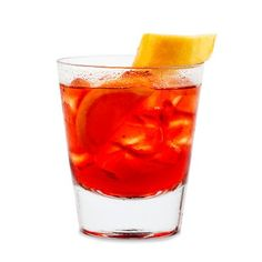 Americano - drink na trawienie z Campari i Martini - Koktajl. Smoothies, Blue Curacao, Cocktails, Drinks, Martini, Johny Walker, Shot Glass, Whisky, Tableware