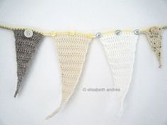 Pointy Bunting - from Elisabeth Andrée
