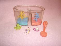 Vintage Littlest Pet Shop Splashtime Pets Deepsea Divers 1994 |  Totes had these too!