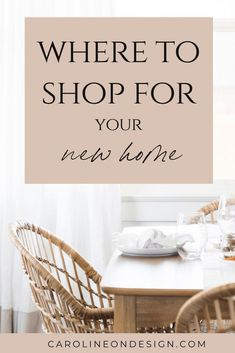 Is it time to decorate your new home? Find all of my favorite places to shop for home decor right here!