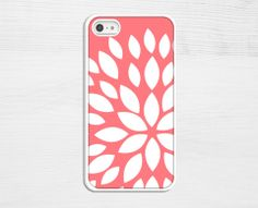 Coral Flower iPhone Case $18