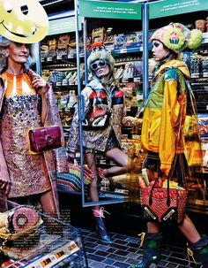 My Market Day - Vogue Japan October 2014 Lindsey Wixson & Hanne Gaby Odiele by Giampaolo Sgura