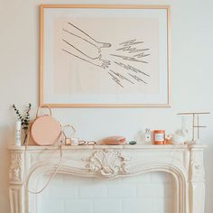 Pretty mantle styling
