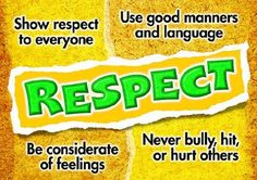 Teaching respect to teenagers