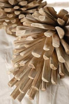 Pine Cone Driftwood Tree