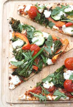 Roasted Vegetable Pizza | My Fussy Eater