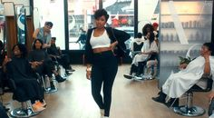 We Are Loving Jennifer Hudson's New Video, She Even Features A Neighborhood Salon  Read the article here - http://www.blackhairinformation.com/general-articles/celebrities/loving-jhuds-new-video-even-features-neighborhood-salon/ #Jenniferhudson #neighborhoodsalon #hairsalon