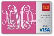 monogrammed credit carddd, yussss