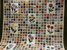 Love this tile quilt