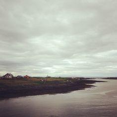 The view over Flatey, Breiðafjörður