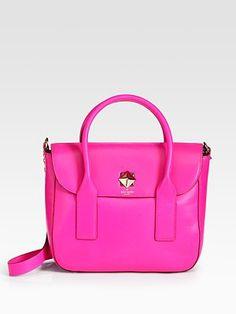 Kate Spade Florence Top Handle Bag in Hot Pink