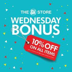 dd54aaf2532ed The SM Store Wednesday Bonus  10% Off All Items!