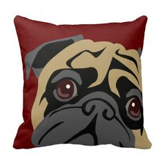 Cuddly Pug Pillows. Click here to see>> http://www.zazzle.com/cuddly_pug_pillows-189531940756900585
