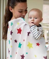 Star Giant Muslin Square/Burp Cloth at Mamas & Papas