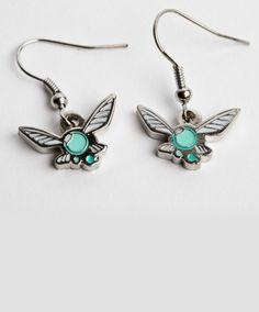 Hey Listen Earrings by Sanshee #nintendo #zelda #navi $15.99