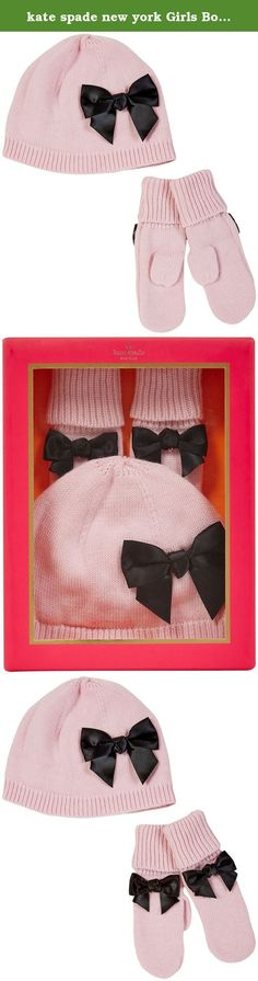 kate spade new york Girls Bow Hat and Mitten Set Kscxg0540, Strawberry Cream, 5T. It all started back in 1993, when Kate brosnahan spade, a former accessories editor at mademoiselle, set out to design the perfect handbag. Debuting with just six silhouettes, she combined sleek, utilitarian shapes and colorful palettes in an entirely new way. And so kate spade new york was born. Oday we've grown into a Global lifestyle brand, and aim to inspire colorful living through our handbags and…