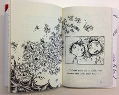 From: FORTUNATELY, THE MILK, by Neil Gaiman, illustrated by Skottie Young.