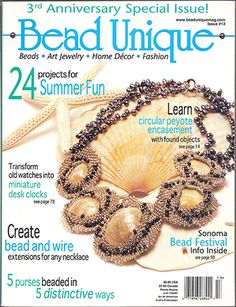 Price: $4.47. 013 Bead Unique Magazine, Issue 13 (Like New)
