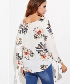 Blusas Modern Liar Women Chifon - Liar Clothing Online shopping from the earth's biggest Criss Cross, Floral Tops, Bell Sleeve Top, Neckline, Plus Fashion, Purple, Casual, Outfits, Clothes