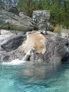 Gold Fork Hot Springs, Idaho, pretty far away from Mtn Home Vacation Places, Vacation Trips, Vacation Spots, Places To Travel, Vacations, Vacation Ideas, Oh The Places You'll Go, Places To Visit, Idaho Hot Springs