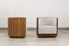 Michel Buffet Pair of Armchairs, circa 1930 | From a unique collection of antique and modern armchairs at http://www.1stdibs.com/furniture/seating/armchairs/