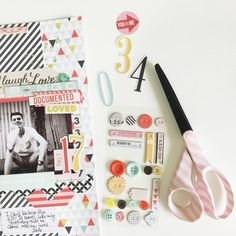 Scrappingclearly Scrapbooking and Papercrafts: Mr 17 by Lauren Hender