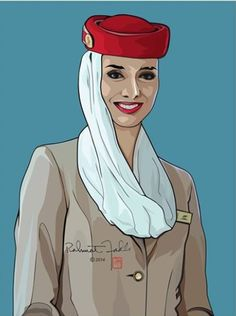 Fly Emirates stewardess on Corel Draw Disney Princess Coloring Pages, Disney Princess Colors, Drawing Sketches, Sketching, Art Drawings, Flight Attendant Quotes, Emirates Cabin Crew, Emirates Airline, Heathrow Airport