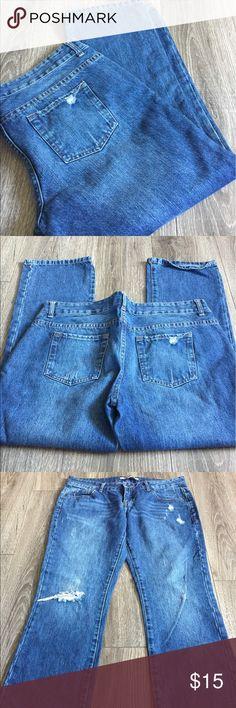 """Forever twenty one XXI 21 Denim Capris Jeans Sz 29 25"""" inseam. Great Capris Forever 21. Forever 21 Jeans Ankle & Cropped"""