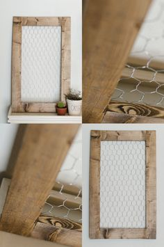 Our sleek chicken wire frames add just a touch of rustic, farmhouse chic to your home, nursery, or office. Use it for organizational purposes, or as a beautiful Farmhouse Wall Decor, Farmhouse Chic, Farmhouse Windows, Farmhouse Front, Barn Wood Frames, Frames On Wall, Wall Art Decor, Nursery Decor, Jewelry Holder Wall