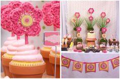 Pink Flower/Garden Party
