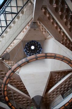 The Museum of Islamic Art, Doha, Qatar. Indian Architecture, Religious Architecture, School Architecture, Architecture Photo, Beautiful Architecture, Landscape Architecture, Kenzo Tange, Renzo Piano, Built Environment