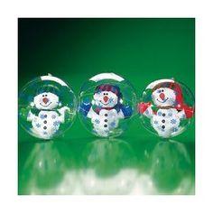 snowmen beach balls