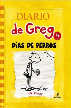"""Ficha de lectura de """"DIARIO DE GREG 4. Días de perros"""" de Jeff Kinney, elaborada por Miguel Fontánez"""
