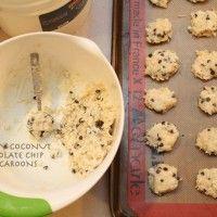Creamy Coconut Chocolate Chip Macaroons