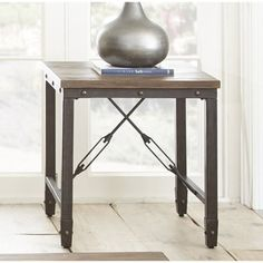 Greyson Living Jarno Industrial End Table - 18437357 - Overstock.com Shopping - Great Deals on Greyson Living Coffee, Sofa & End Tables
