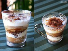 Café com brigadeiro e sorvete