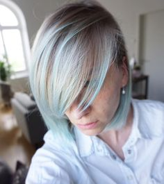 "Polubienia: 360, komentarze: 3 – Directions Hair Colour (@directions_hair_colour) na Instagramie: ""Cool minty tones from @stories.hair_makeup xx  #directionshair #directionshaircolour…"""